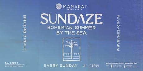 Sundaze at Manarai tickets