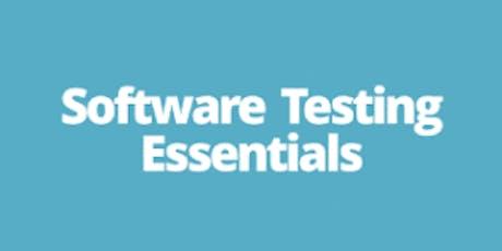 Software Testing Essentials 1 Day Training in San Diego, CA tickets