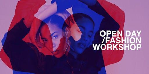 Open Day •  Fashion Illustration workshop