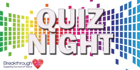 Breakthrough Autumn Quiz Night tickets