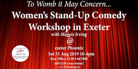 Exclusive Women's Stand-Up Workshop tickets