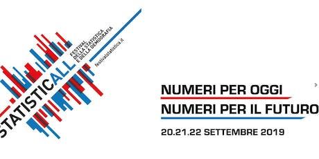 StatisticAll. Festival della Statistica e della Demografia biglietti