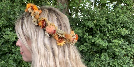 Eden Dried Flower Crown Workshop with Urban Makers tickets