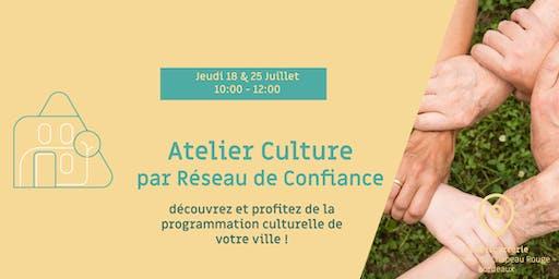 Atelier Culture par Réseau de Confiance