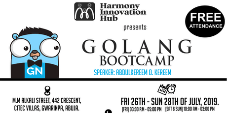 Free GOLANG Bootcamp in Abuja! tickets