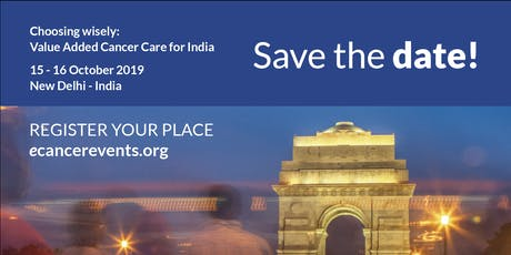 Choosing wisely: value added cancer care for India biglietti
