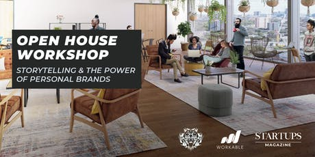 Open House Workshop: Storytelling & the power of personal brands tickets