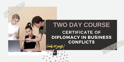 The Art of Conflict Resolution in Business: Canberra (14-15 October 2019)