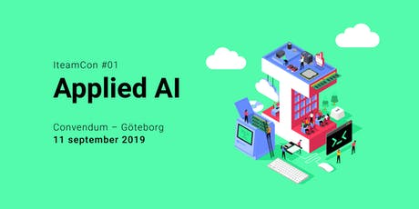 IteamCon #1 - Applied AI Göteborg biljetter