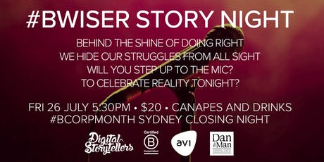 #BWiser Story Night: Co-presented by Digital Storytellers, AV1 and Dan the Man Catering tickets
