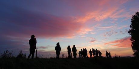 Parkenmaand ochtendwandeling tijdens zonsopkomst  tickets