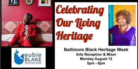 Celebrating Our Living Heritage - BBHW 2019 Arts Reception and Gala tickets