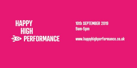 Happy High Performance: Learning Day 2019 tickets