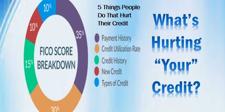 Credit Education Workshop Topic: What's Hurting Your Credit? tickets
