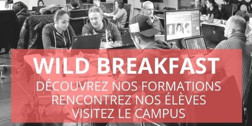 Wild Breakfast - Présentation Ecole & Formations - Wild Code School Reims