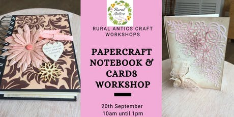 Papercraft Notebook & Card Workshop tickets