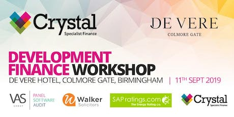 Development Finance Workshop - 11th September 2019 tickets