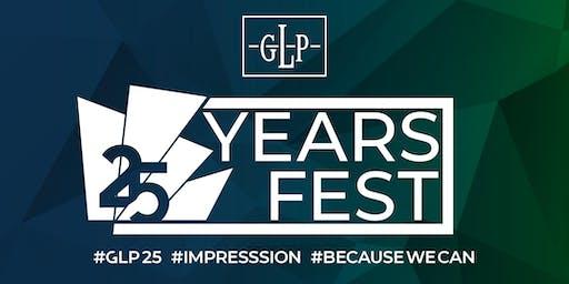 GLP feiert 25-jähriges Firmenjubiläum