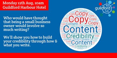 Content and copy - building your credibility