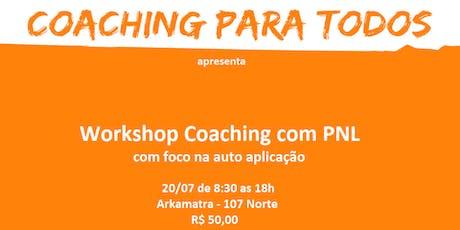 Workshop Coaching com PNL ingressos