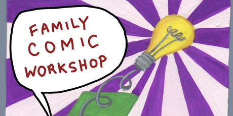 Family Comic Workshop tickets