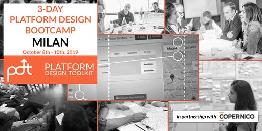 The Platform Design Toolkit 3-Day Bootcamp - Milan: October 8th - 10th