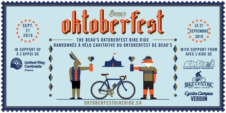 Beau's Oktoberfest 2019 Charity Bike Ride tickets
