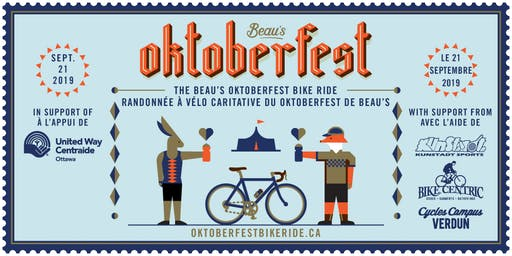 Beau's Oktoberfest 2019 Charity Bike Ride