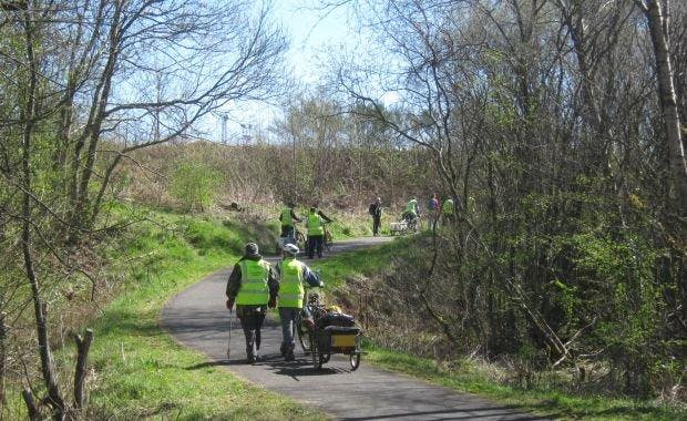 National Cycle Network weekly task days, Renfrewshire