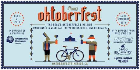 Randonnée à Vélo Caritative du Oktoberfest 2019 tickets