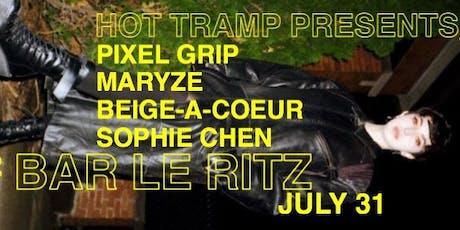 Maryze // Pixel Grip // Beige-a-coeur // Sophie Chen tickets