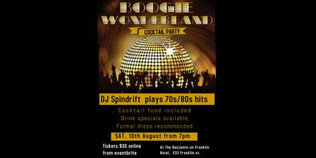 Boogie Wonderland Cocktail Party tickets