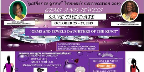 """""""Gems and Jewels Daughters of the King"""" tickets"""