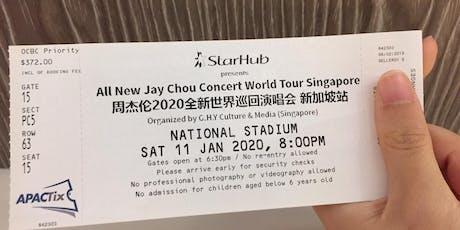 Jay Chou Concert 2020 tickets