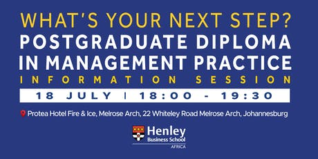 PGDip Information Session - at Melrose Arch | #HenleyAfrica tickets