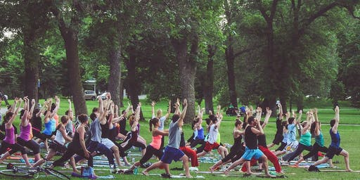 Outdoor yoga and mindfulness workshop @ Brunswick Square (free!)