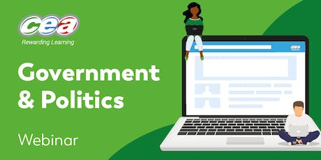 CCEA GCE Government & Politics Subject Support Webinar  tickets