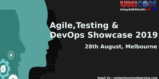 Agile, Testing & DevOps Showcase 2019 - Melbourne