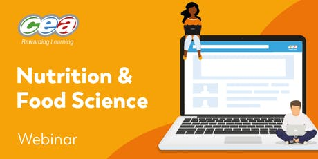 CCEA GCE Nutrition & Food Science Subject Support Webinar  tickets