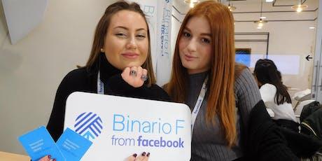 Vivere Digitale al Binario F di Facebook - Incontro 1 - Fondazione Mondo Digitale biglietti