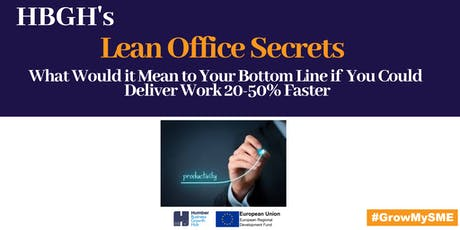 Lean Office Secrets  tickets