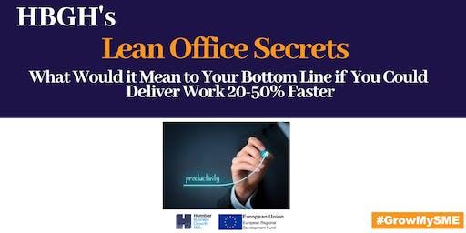 Lean Office Secrets