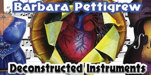 SALA Art Exhibition Deconstructed Instruments by Barbara Pettigrew