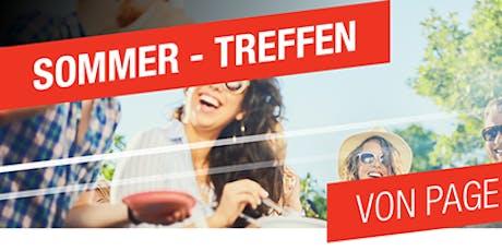 Einladung zum Sommer-Treffen 2019 von Page Personnel München Tickets