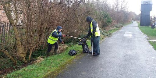 National Cycle Network Litterpicks, Glasgow
