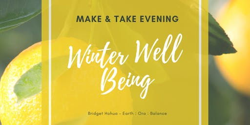 Winter Well-Being Make & Take