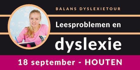 Balans Dyslexietour - Houten tickets
