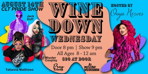 Wine Down Wednesday - August 14th