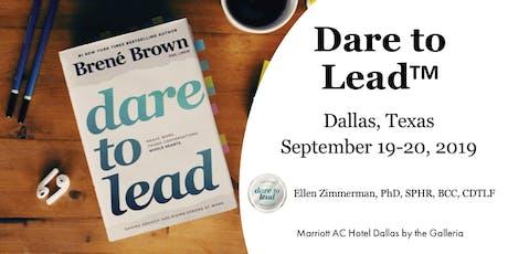 Dare to Lead Training - Dallas, Texas tickets