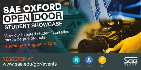 SAE Oxford Open Door Student Showcase tickets